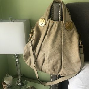 Beautiful all Leather Guccisima Hobo Bag